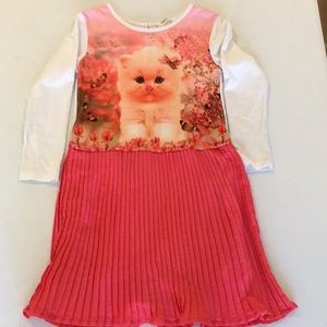 Dress w/ a cat on the front B2